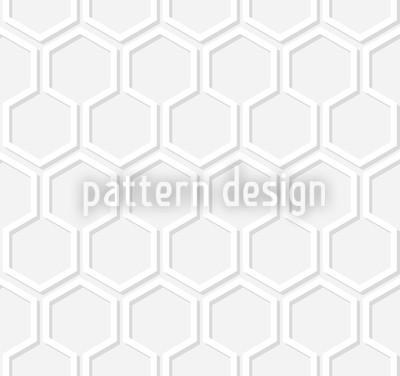 Wintergrau Honig Nahtloses Vektor Muster