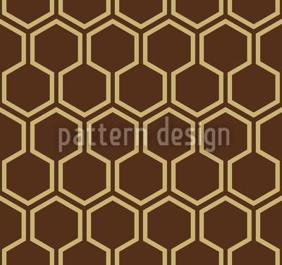 Karamell Honig Vektor Muster