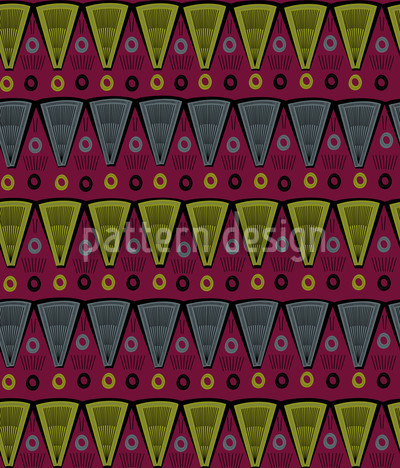 Popovs Favourite Subjects Seamless Vector Pattern Design