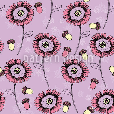 Boheme Fantasyflowers Lavender Repeat