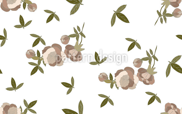 Frühlingsblumen-Zeit Vektor Muster