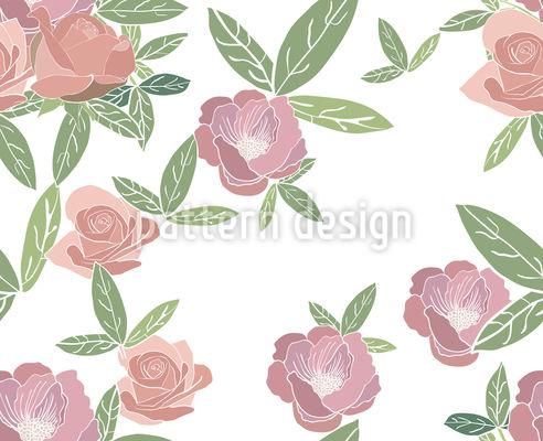 Rosen im Frühjahr Vektor Design