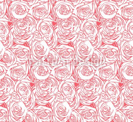 Decke Aus Rosen Musterdesign