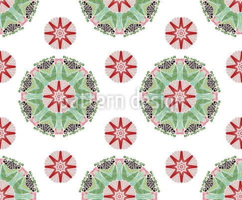 Blütenpracht Musterdesign