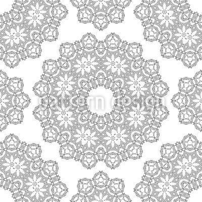 Dezente Mandalas Vektor Ornament
