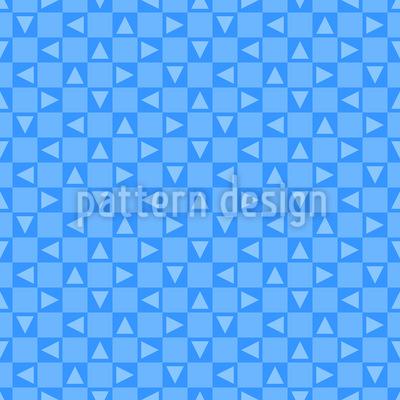 Vermischte Dreiecke Nahtloses Muster