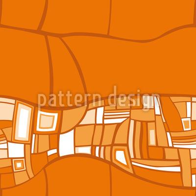 Stilismo Orange Vektor Ornament