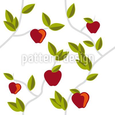 The Garden Of Eden Seamless Vector Pattern Design