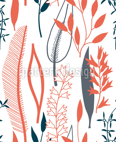 Leaves Silhouettes Vector Design