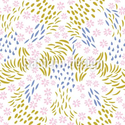 Blossom Doodles Pattern Design