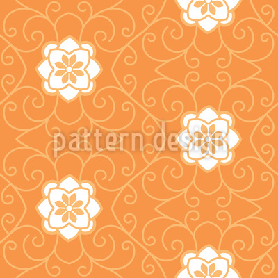 Sleeping Beauty Entwined Seamless Vector Pattern Design