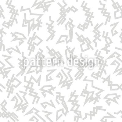 Trigger Weiss Rapportiertes Design