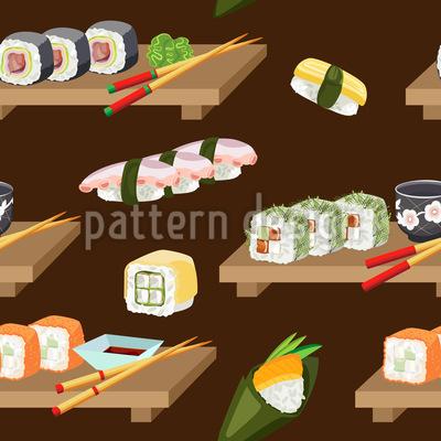 Japanischer Mittag Vektor Muster