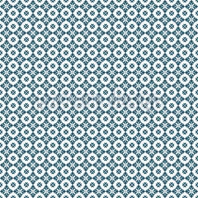 Padrão de lírio simples Design de padrão vetorial sem costura
