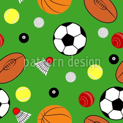 Sport im Blickpunkt Nahtloses Muster