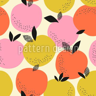 Orangen und Blätter Vektor Design