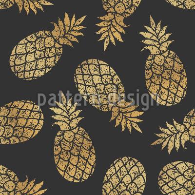Schmuck Ananas Rapportmuster