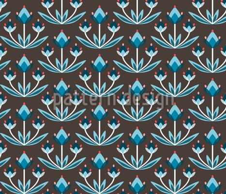 Diamantenknospe Rapportiertes Design