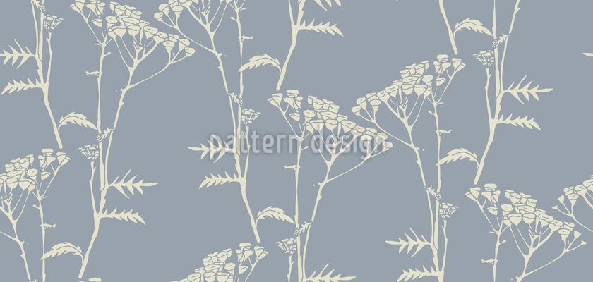 Zarte Baumblumen Designmuster