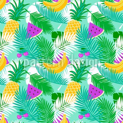 Tropical Fruit Vector Design