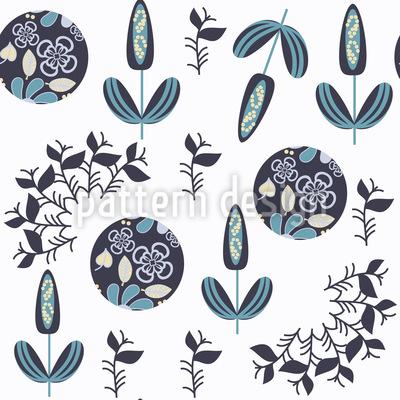 Blumenknöpfe Musterdesign