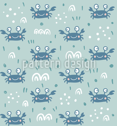 Herr Krabbe Rapportiertes Design