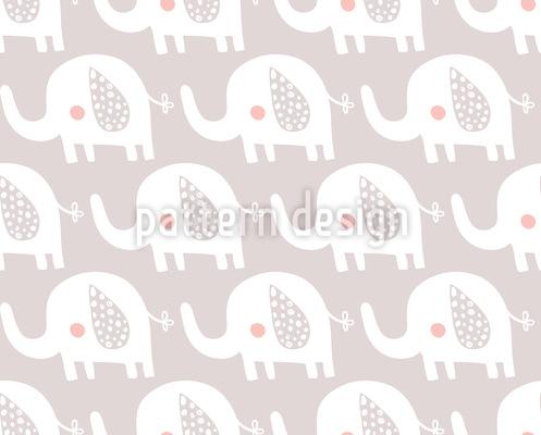 Kinderzimmer Elefant Rapportmuster