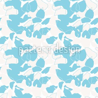 Abstrakte Funkienblätter Muster Design