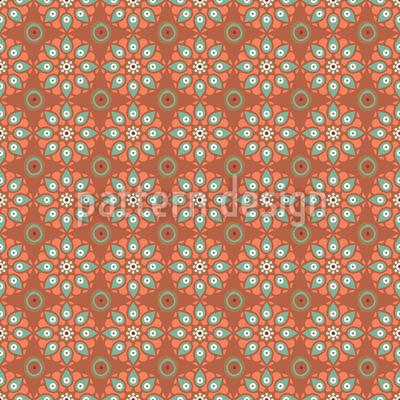 Sindhi Mandala Nahtloses Muster