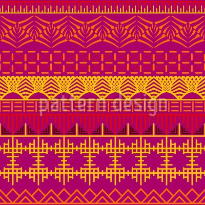 Abstrakter Orient  Designmuster