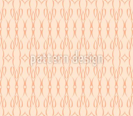 Filigranes Bogenmuster Rapportiertes Design