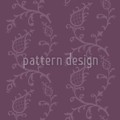 Золушка Баубергина Бесшовный дизайн векторных узоров