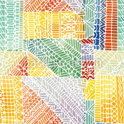 Mosaik Zeichnung Vektor Ornament