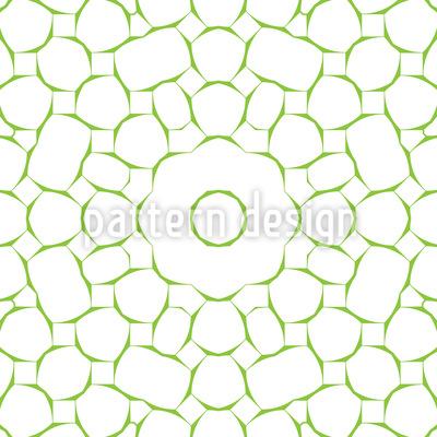 Netzartige Steine Nahtloses Vektor Muster