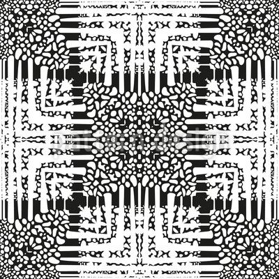 Quadratischer Zusammenhalt Musterdesign