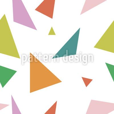 Tolle Dreiecke Rapportiertes Design