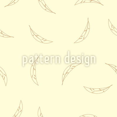 Federn Fallen Herunter Nahtloses Muster