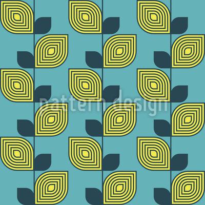 Zukünftige Zitrone Nahtloses Muster