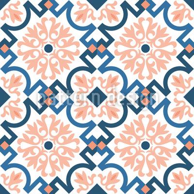 Avignon Nahtloses Vektor Muster