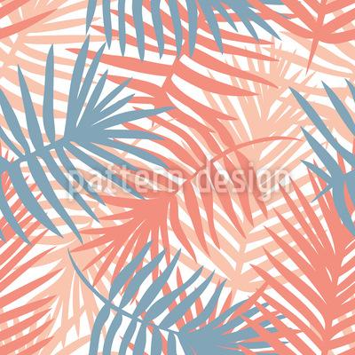 Palmblatt Decke Vektor Muster