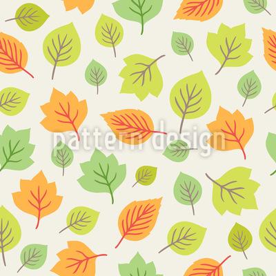 Bunte Blättermischung Vektor Design