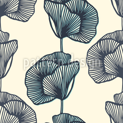 Destiny Flower Seamless Vector Pattern Design
