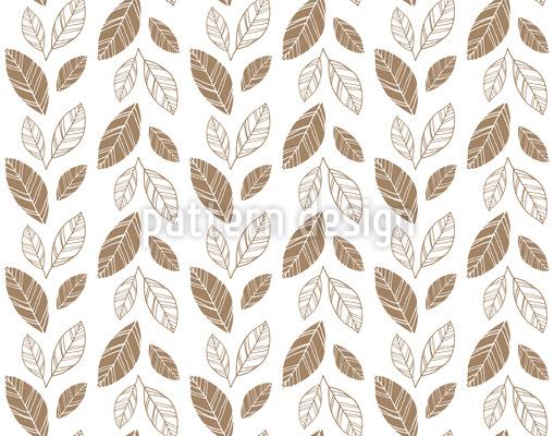 Blätter Streiefen Muster Design