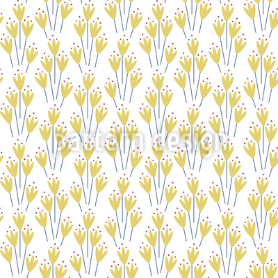 Primavera Elegante Design de padrão vetorial sem costura