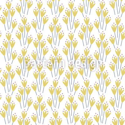 Eleganter Frühling Vektor Muster