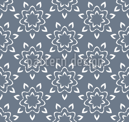Sternen Mandala Designmuster