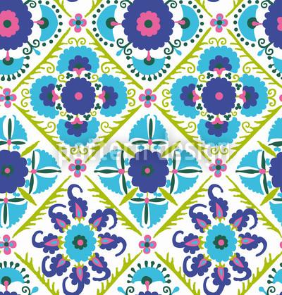 Bukhara Traum Vektor Muster