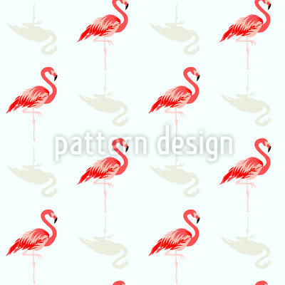 Flamingo-Freund Nahtloses Muster