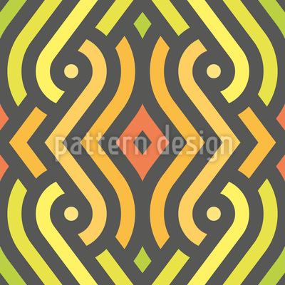 Stripe Snake Pattern Design