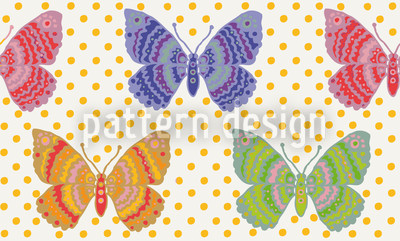 Butterfly Fantasy Repeat Pattern